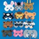 Animal masks 12 for $14